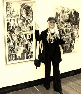 """Art Show at Two Rivers Gallery called """"US""""."""